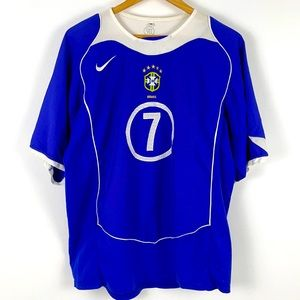 Nike Brazil CBF Ronaldinho 2004-2006 Away Jersey